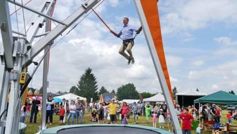 Trampolin springen von Mario Czaja