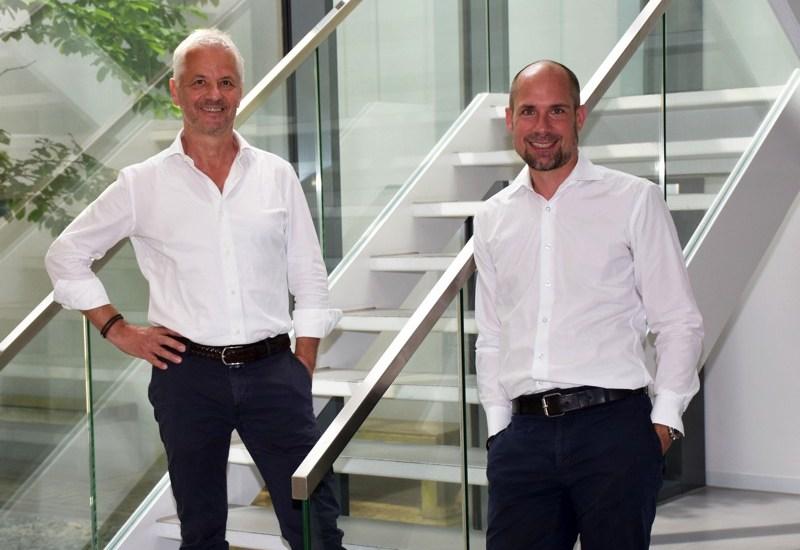 Stephan Fritzsche (links) und sein Nachfolger Mario Dreismann. (Foto: WE-EF)