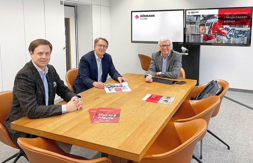 Dr. Marco Henry Neumueller, Dr. Michael Radke und Dr. Andreas Albath