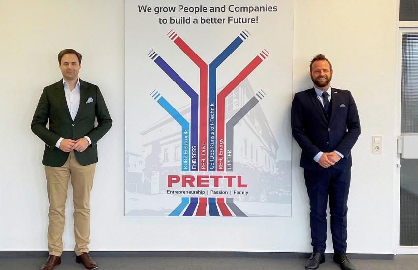 Dr. Marco Henry Neumueller mit Willi Prettl (Prettl Group)
