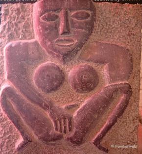 Darstellung der Fruchtbarkeitsgöttin Sheela-na-Gig