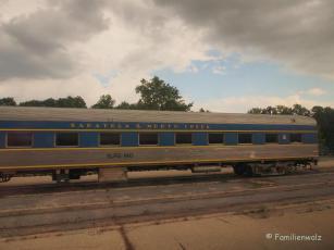 Zugfahren in Kanada und drei Jungfrauen in Alexandria - kanadischer Zug