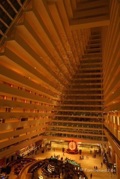 Hotel Marina Bay Sands, innen