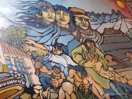 Am Busbahnhof von La Serena