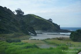 letzter Campingplatz vor Cape Reinga: Taputaputa