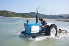 Wassertaxi-Transport mit Ford