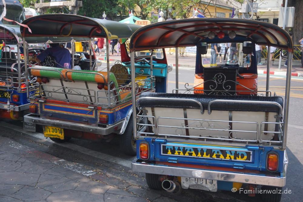 Und plötzlich Thailand