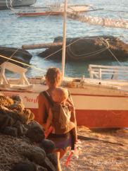 Abendstimmung auf Apo Island