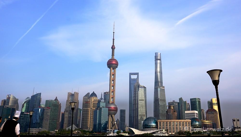 Shanghai - Willkommen in der Zukunft