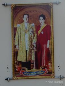 Elefanten, Strand und wilde Affen - Hua Hin - König Bhumibol und Königin Sirikit