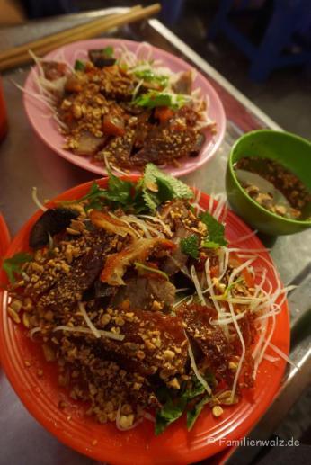 Essen auf den Straßen Hanois