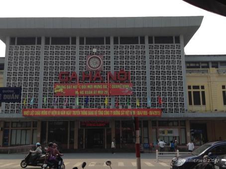 Hauptbahnhof von Hanoi