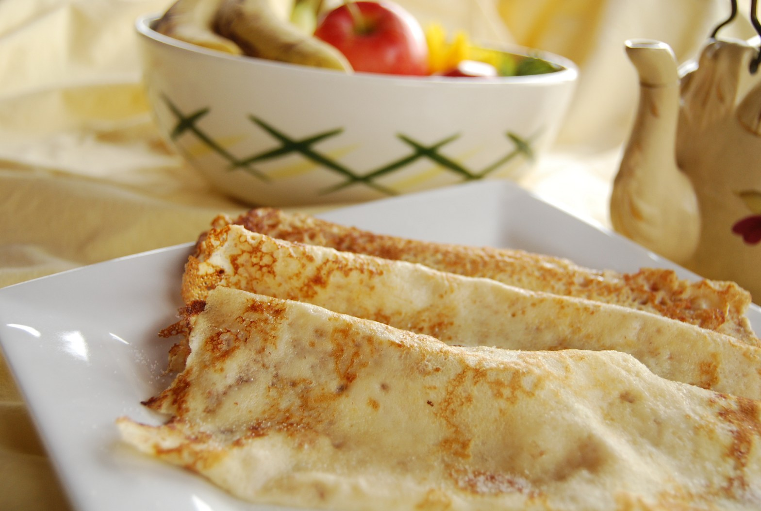 Shrove tuesday pancakes