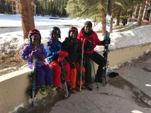 Before ski school at Breckenridge Resort