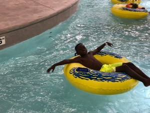 Lazy river at Great Wolf Lodge