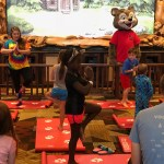 Yoga Tails at Great Wolf Lodge