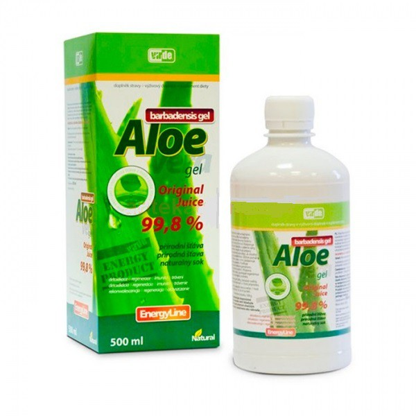 Aloe Vera, żel do picia, 500ml