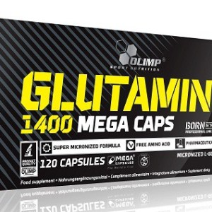 Olimp, L-Glutamine 1400mg, 120 kapsułek