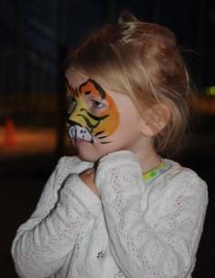 Söt tigerunge