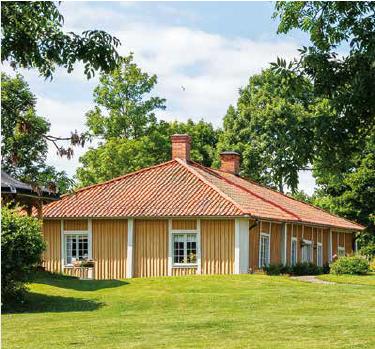 Flygelbyggnaden på Liljeholmen.