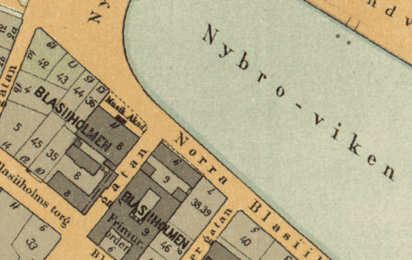 Musikaliska Akademin 1899. Källa: stockholmskallan.se.