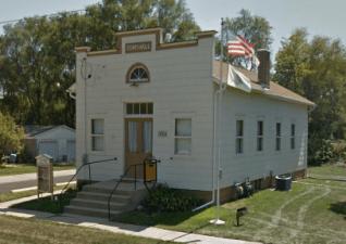 Rådhuset i Davis Junction. Källa: Google.