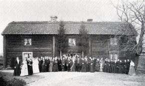 Bröllop. Källa: Från Sommabygd till Vätterstrand V.