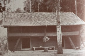 The loft shed at Eklabo.