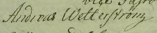 Andreas Wetterström 1794