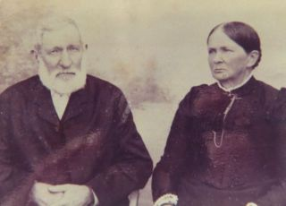 Adolph Andreas and Anna Charlotta. Photo kindly provided by Chris-Marié Wessels.