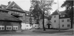 Romanäs sanatoriet. Foto vänligen inskickat av Ingegerd Larsson.
