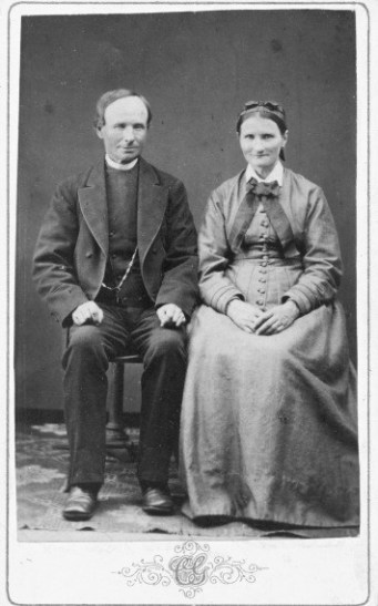 Gustaf Andersson och Karolina Johansdotter
