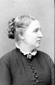 Josefina Frigell 1905. Foto av Carl Axel Leverin.