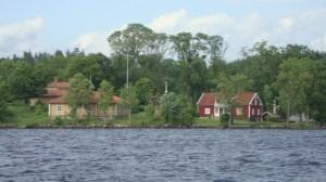 Liljeholmen från sjösidan.