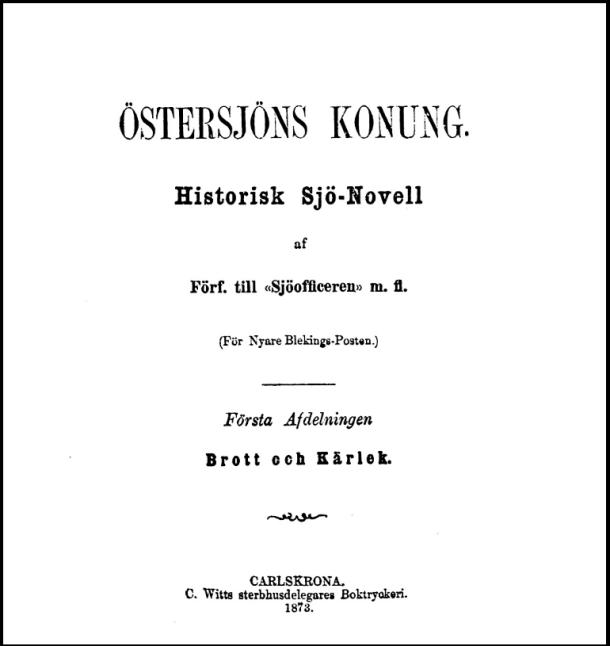 Ostersjons-konung_forside