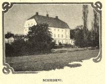 Schedevi, numera Skedevid Slott.