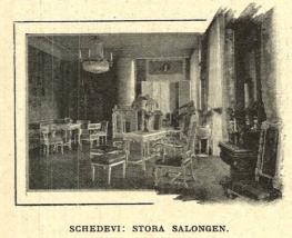 Stora Salongen på Schedevi.