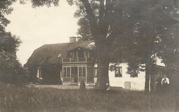 Eksund på ett vykort skickat till Maria Sjöström av moster Louise Rydberg f. Asperén 1909 eller 1910.