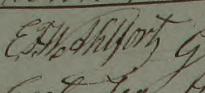 Frans' namnteckning 1859.