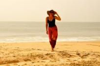 Härlig strand