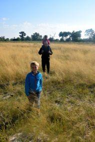 Fotsafari i Okavango