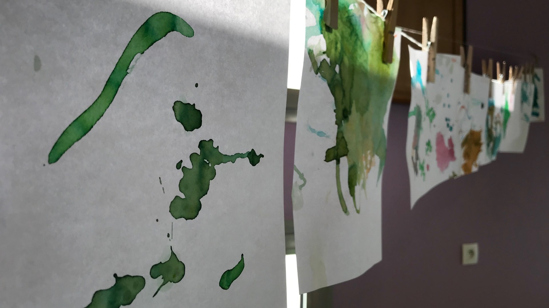 Peinture au glaçon RAMEP monts