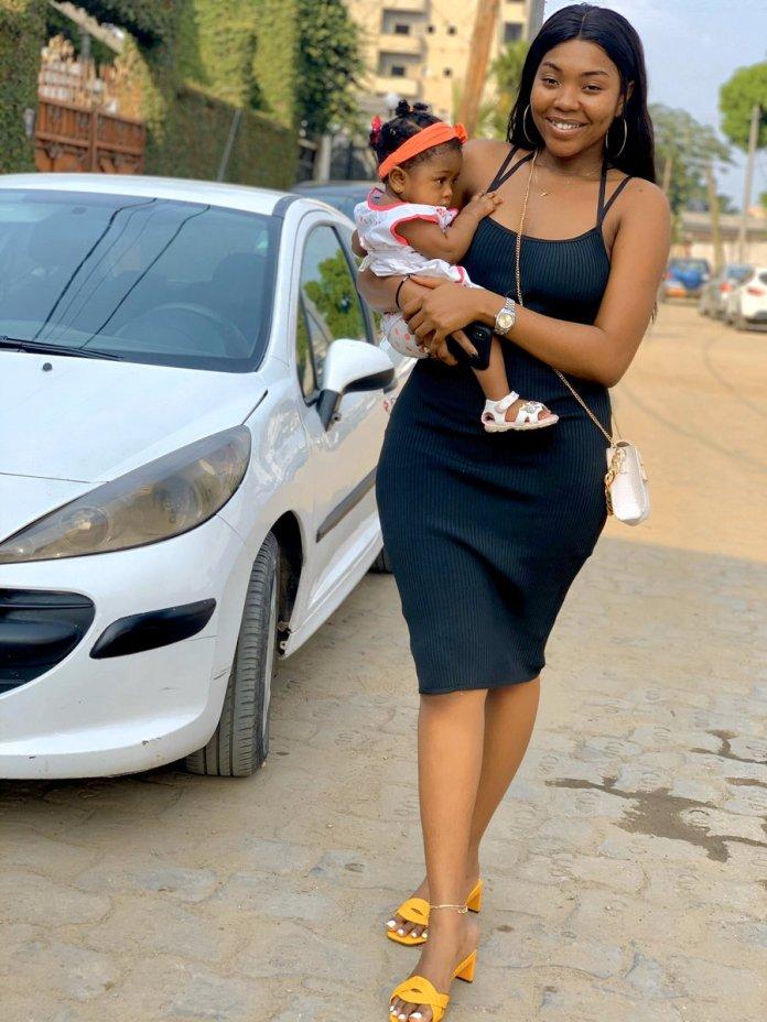Carlia Fassi et sa fille Athena