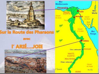 Sur la route des Pharaons