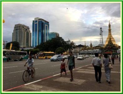 Au Myanmar - 2 - La vie à Yangon