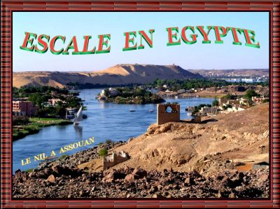 Escale en Egypte