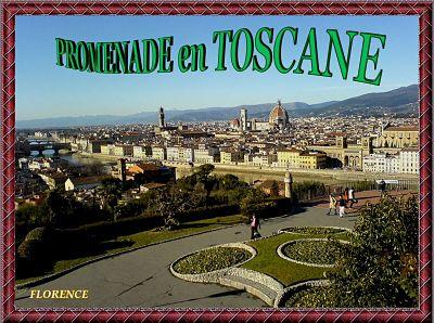 Promenade en Toscane