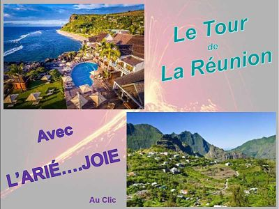 Le tour de la Réunion avec l'Arié…Joie