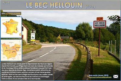 Le Bec Hellouin (Eure)
