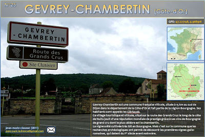 Gevrey-Chambertin (Côte d'Or)
